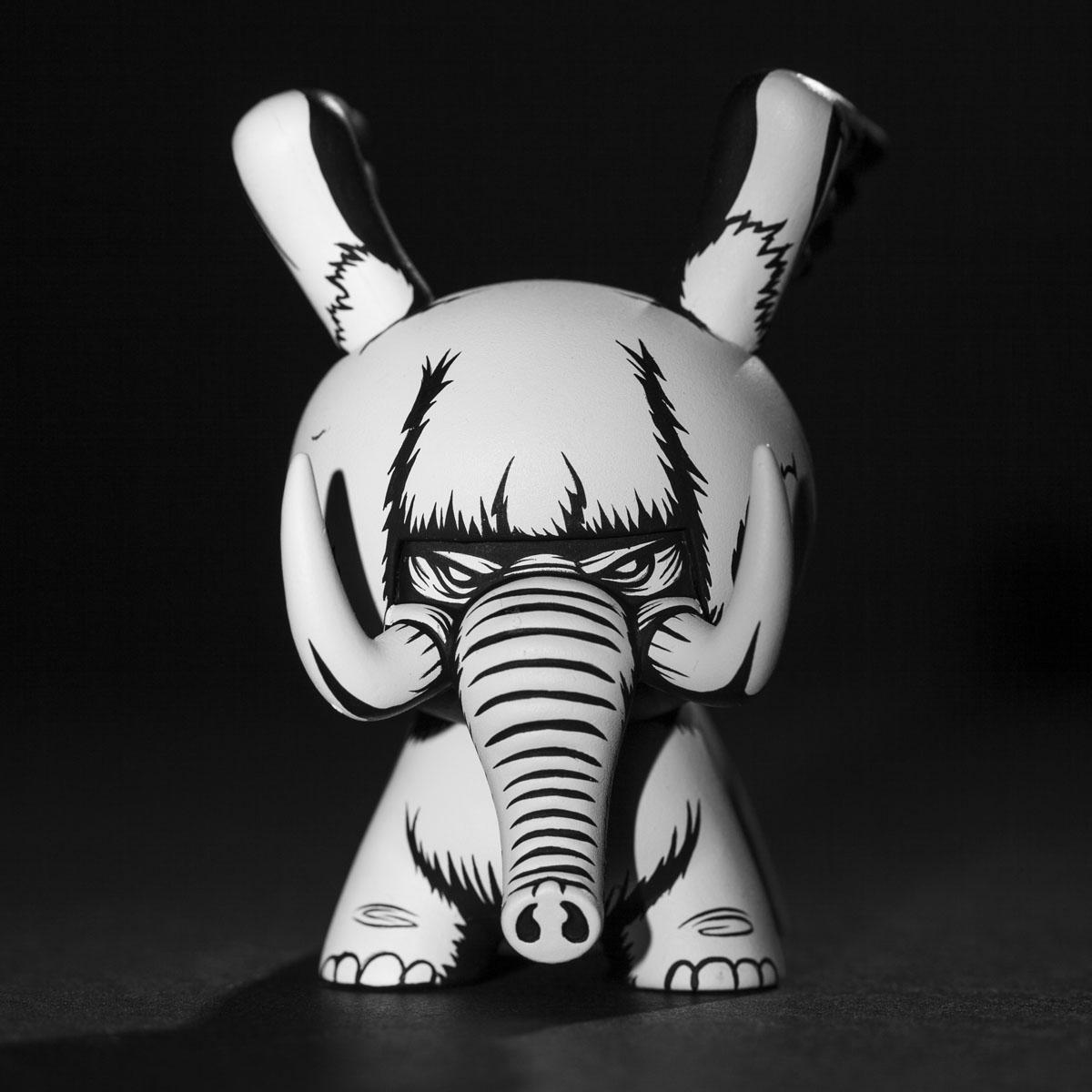 Jon Paul Kaiser Mammoth custom Dunny JPK F