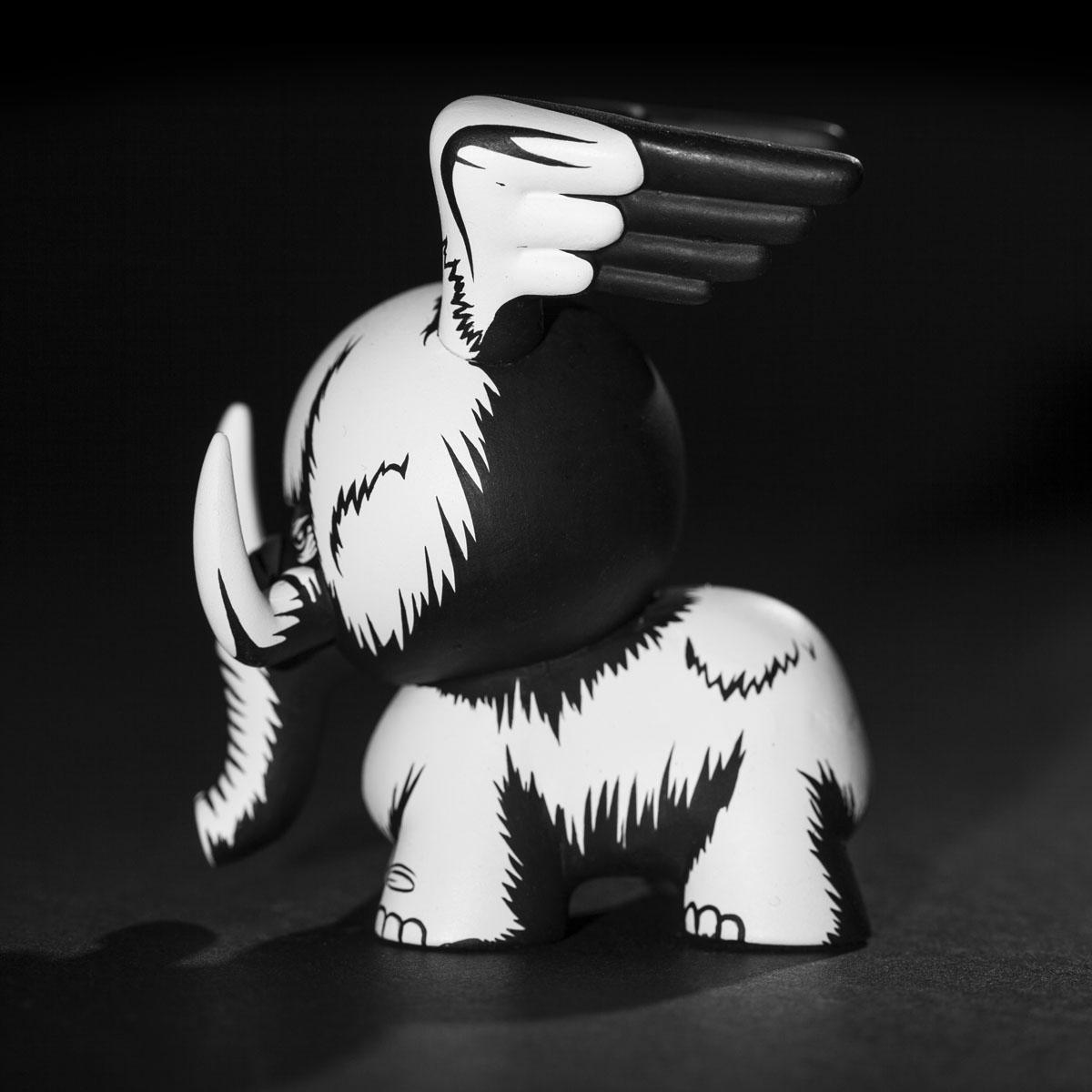 Jon Paul Kaiser Mammoth custom Dunny black side