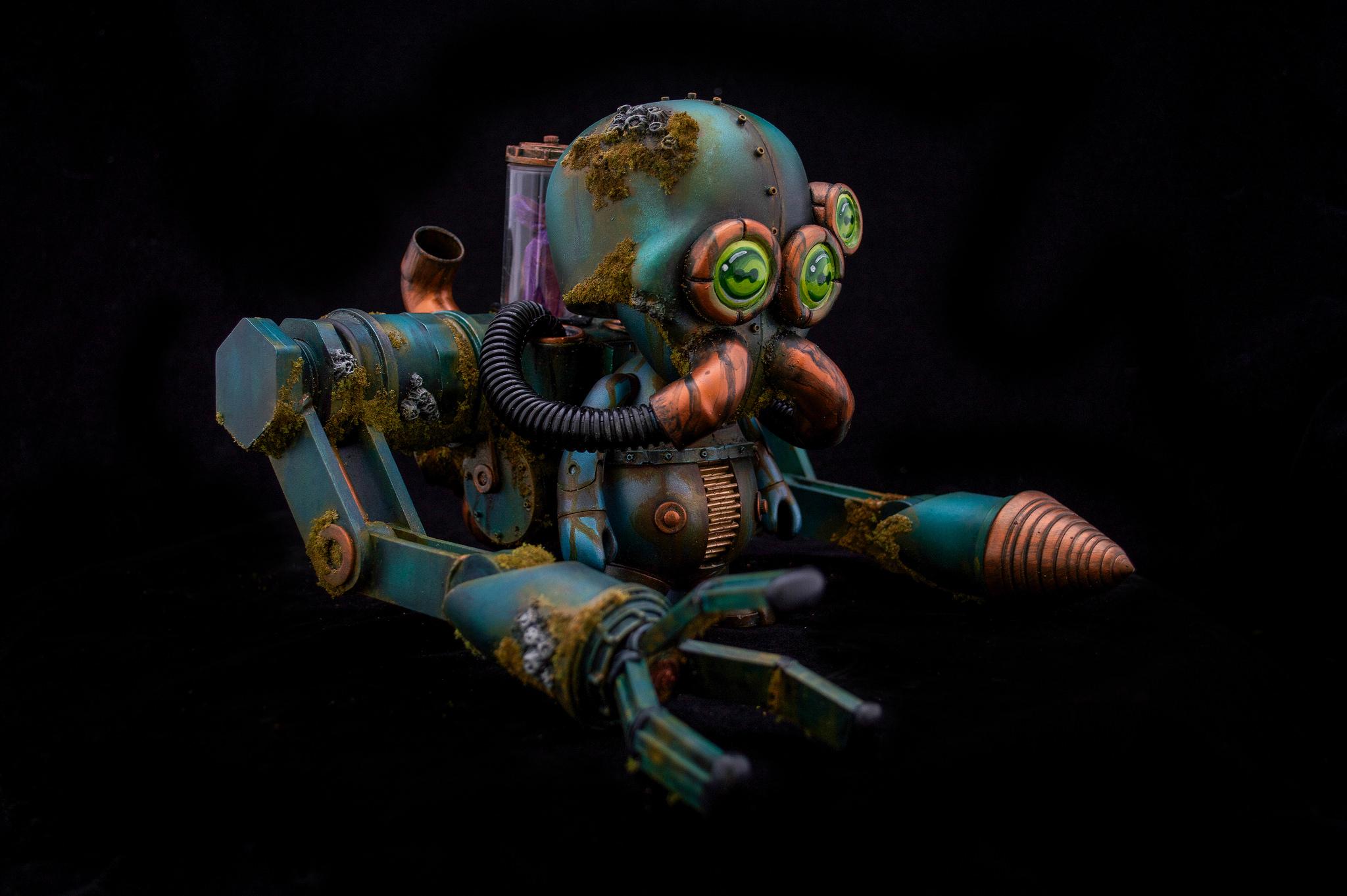 KRKN Automaton Undersea Excavator josh pearce fplus