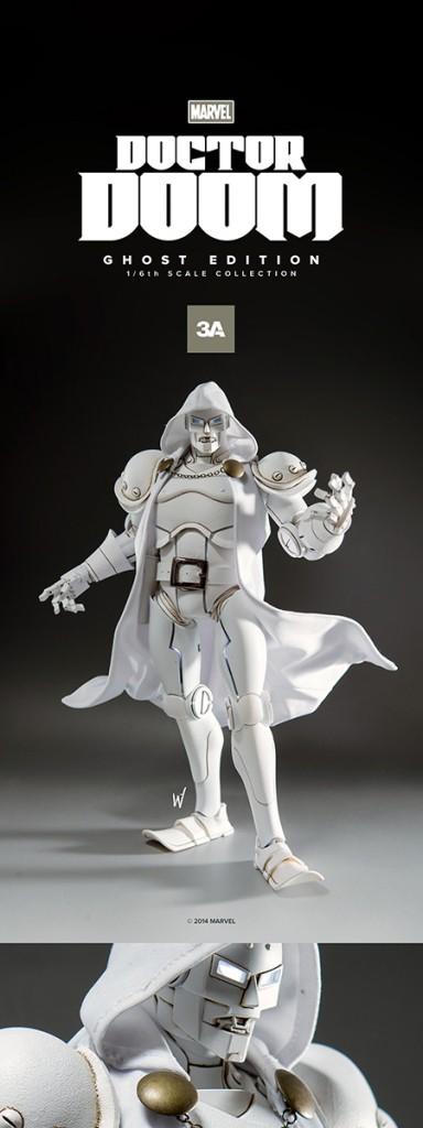 Marvel Doctor Doom By ThreeA Ghost Edition