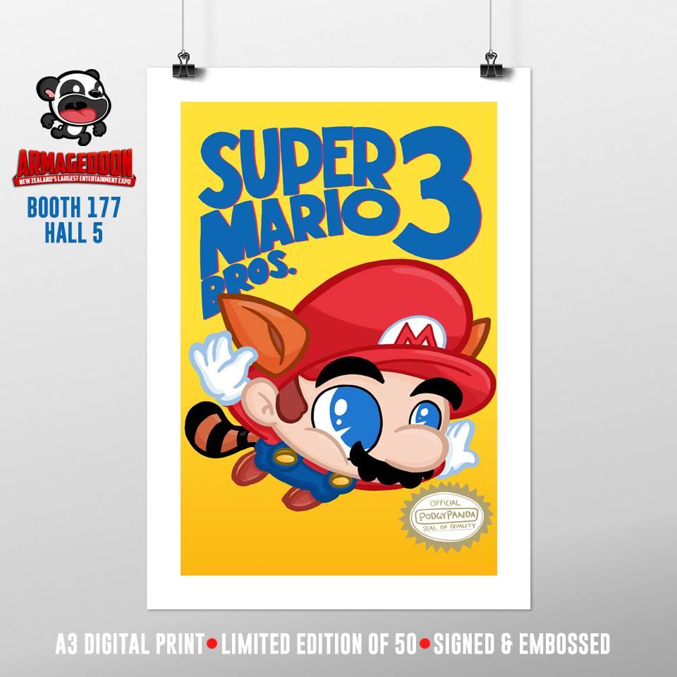 PodgyPanda Super Mario Bros 3