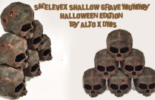SKELEVEX Shallow Grave Mummy (Halloween Edition) By Alto x DMS