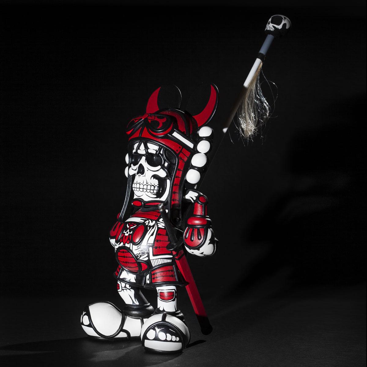 Samurai  David Flores David Flores Deathshead custom by Jon Paul Kaiser side black