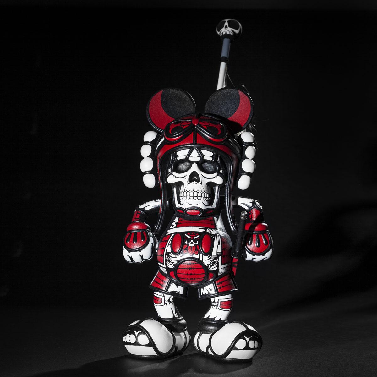 Samurai Deathshead custom by Jon Paul Kaiser black