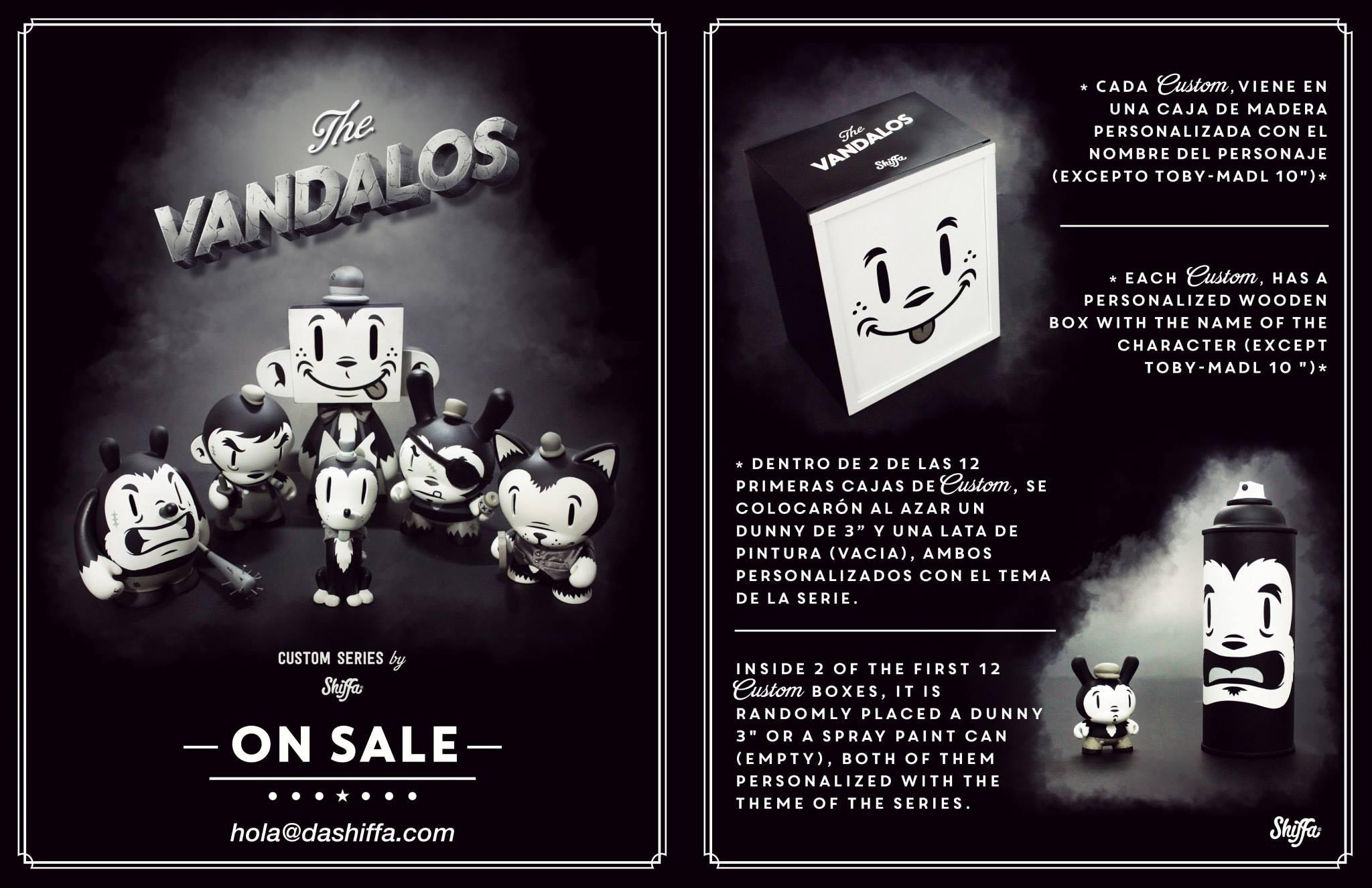 Shiffa Vandalos box info