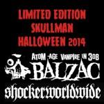 balzac halloween skullman
