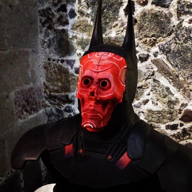 batman 75MX red