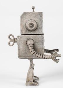 beep bot just robots side