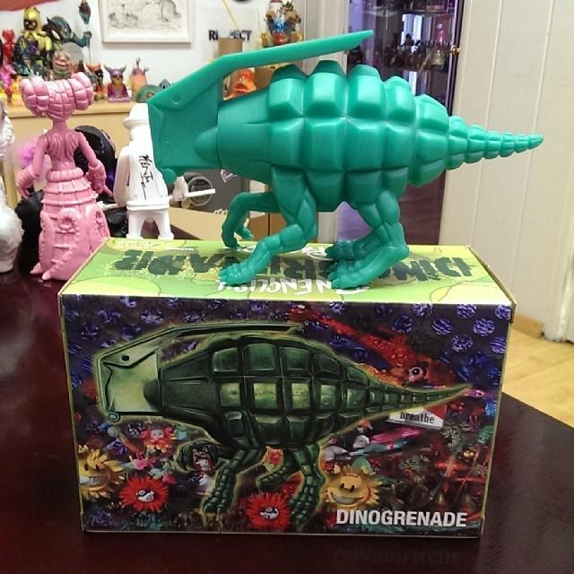 Ron English Dinogrenades
