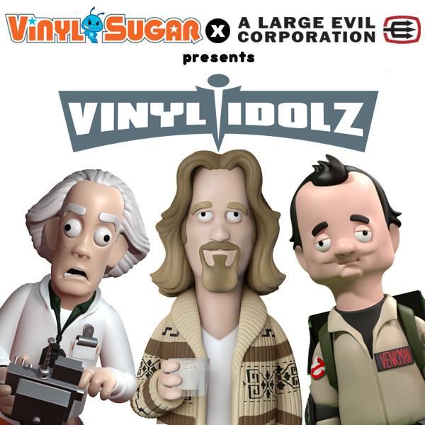 A Large Evil Corporation Vinyl Idolz  Vinyl Sugar