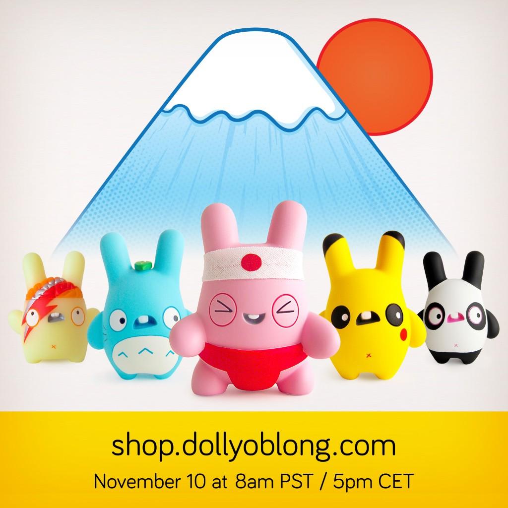 Dolly Oblong Design Festa Goodies group shot