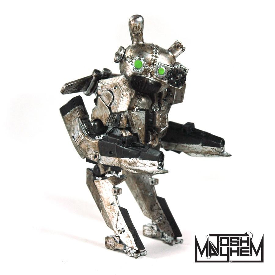 Gunny Series 3 By Josh Mayhem Dcon drilone silver