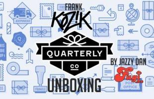 Jazzy Dan Fugi.me Quarterly Unboxing mailing by Frank Kozik