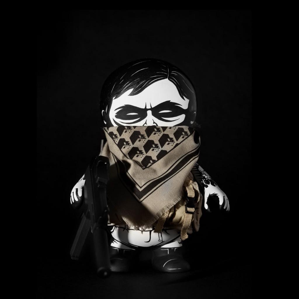 Military SquadT By Jon Paul Kaiser black mask off