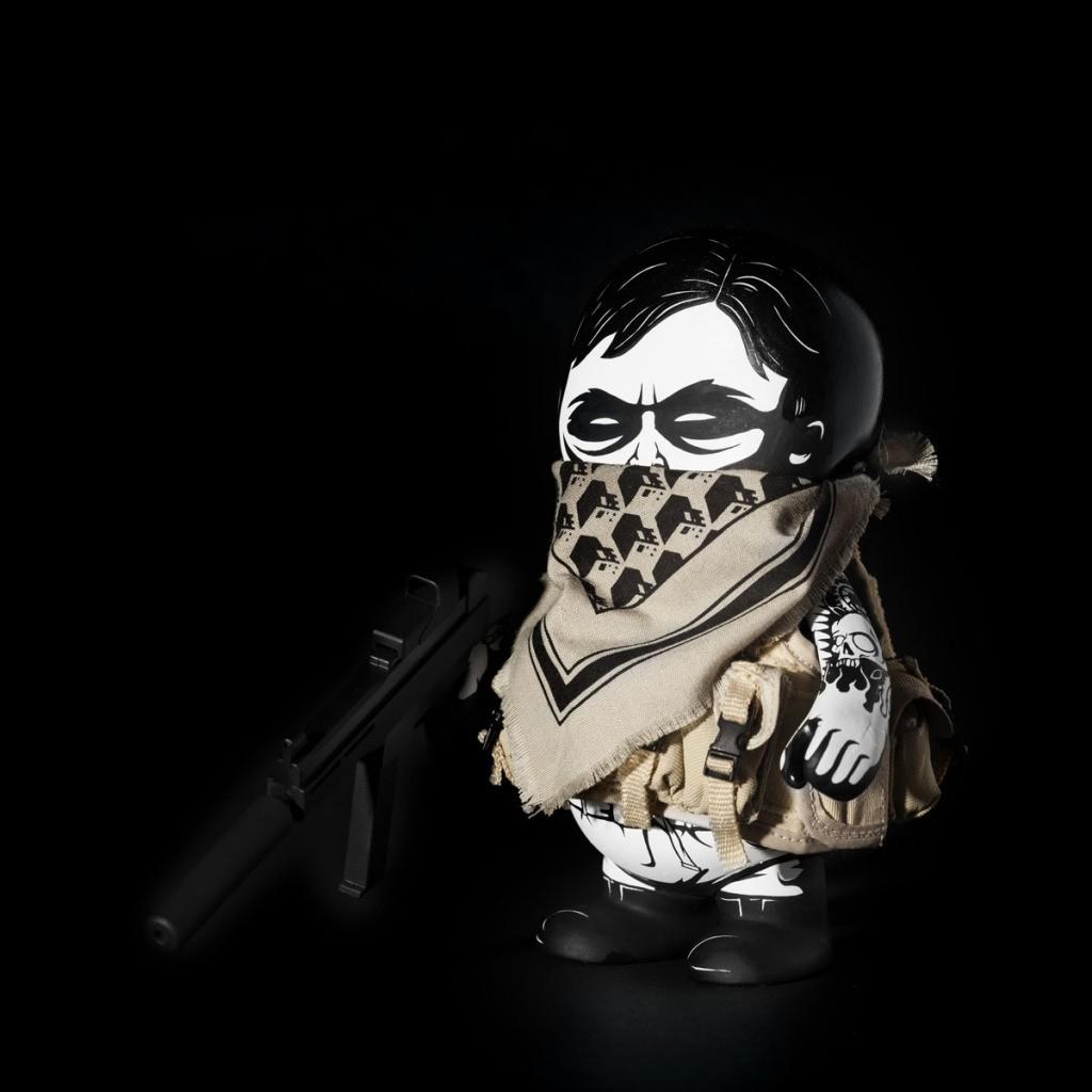 Military SquadT By Jon Paul Kaiser black  side
