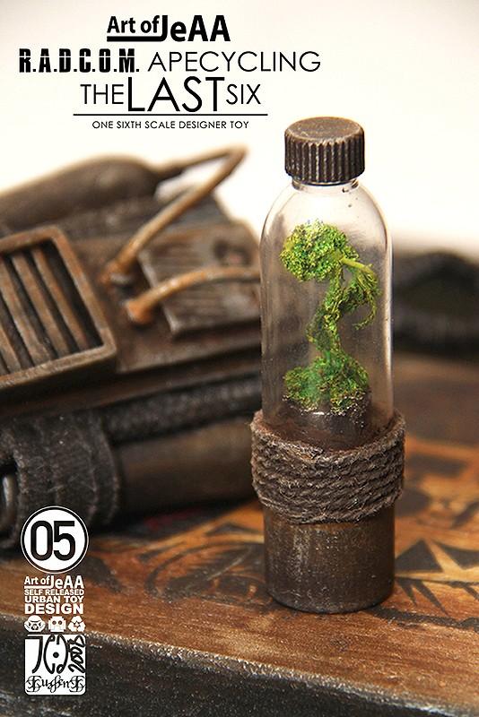 R A D C O M  Apecycling  the LAST six By Art of JeAA plant