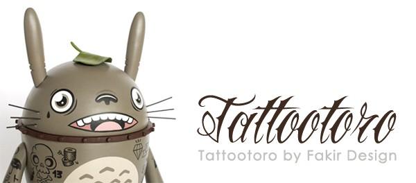 TATTOOTORO Fakir design totoro banner