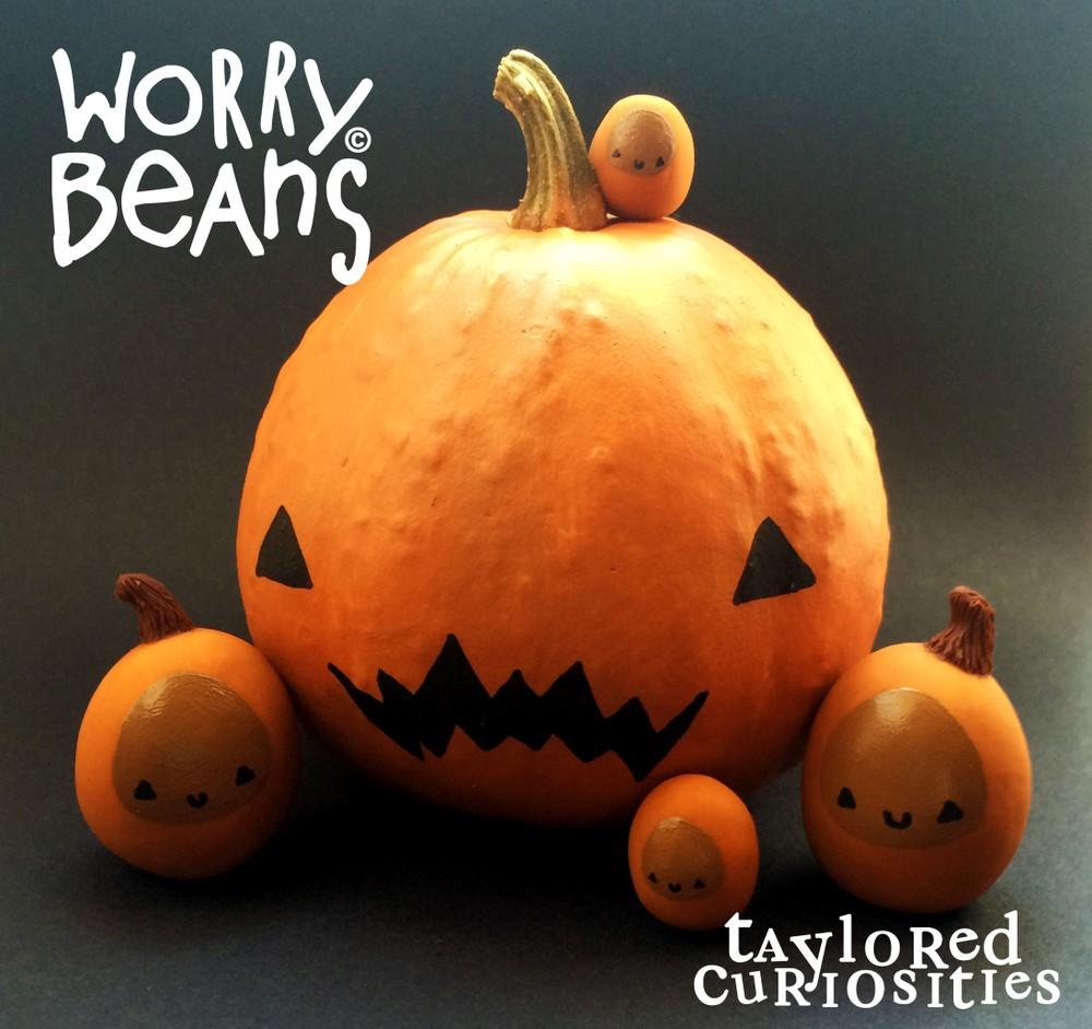 Worry beans Pumpkin Taylored curiosities together