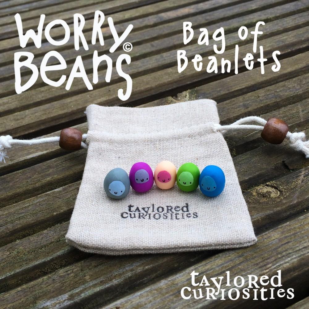 bag_of_beanlets_bean_worry_bean_designer_toy_taylored_curiosities_kawaii_cute_sculpt_clay_colour
