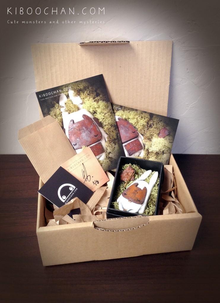 little mysteries Little Black Box By Kiboochan package