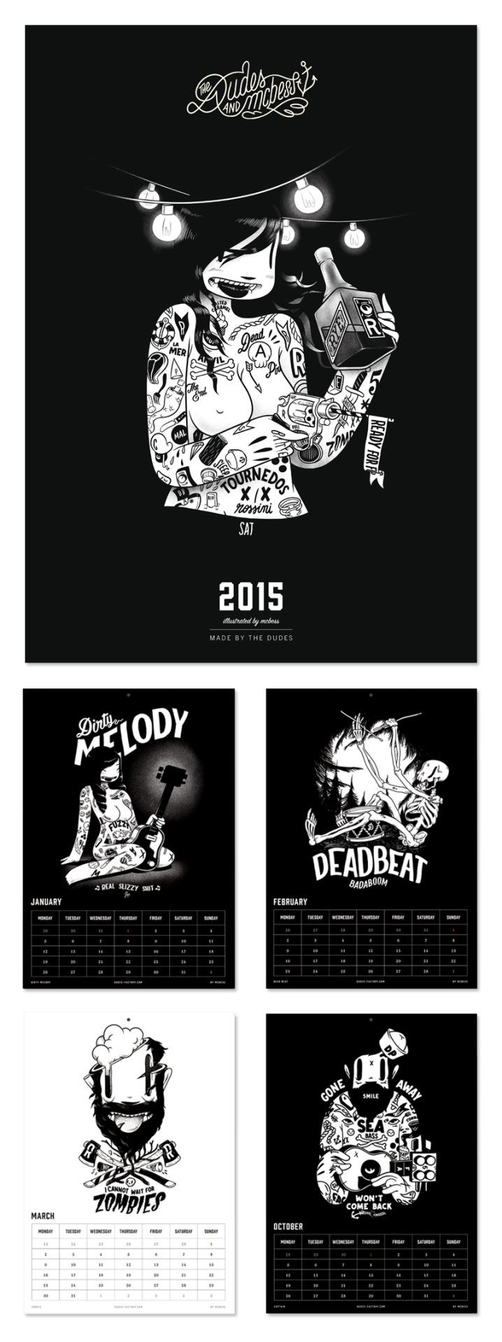 mcbess 2015 calendar preview