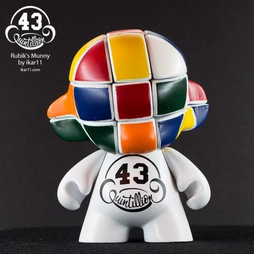 43 Quintillion Rubiks Munny Custom By Ilya Ikar IKargram