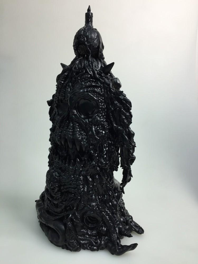 Art of Skinner Skinnerverse x Unbox LOLGOLTH GNAZGOROTH  unbox industries black back