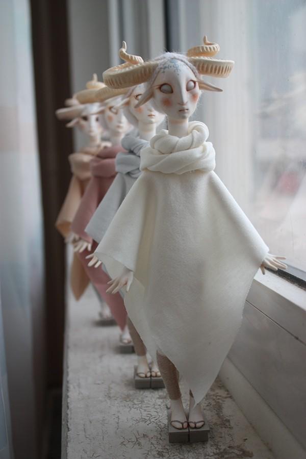 Fauns By Anna Egorova line up