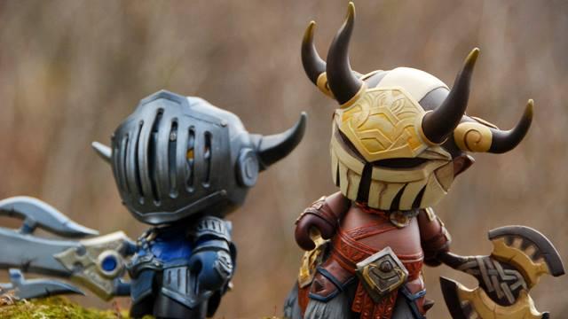 Fiona Ng Centaur Warrunner- Berserkers Edge and Sven- The Warriors Retribution close up