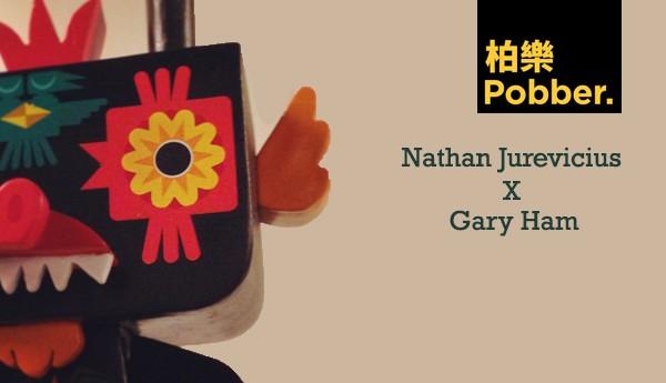 Gary-Ham-x-Nathan-Jurevicius-Pobber-toys-TTC-banner-