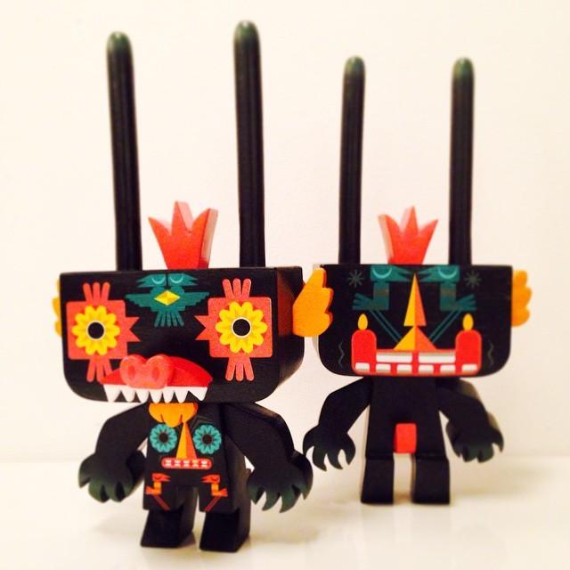 Gary Ham x Nathan Jurevicius Pobber toys twin
