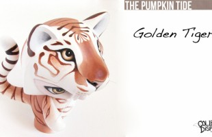 The Golden Tiger By The Pumpkin Tide x Collect and Display Exclusive