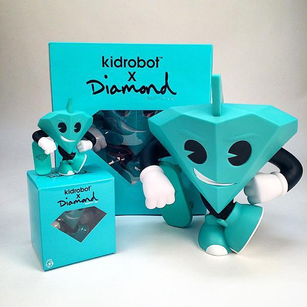 Lil Cutty - Diamond Supply Co x KIDROBOT