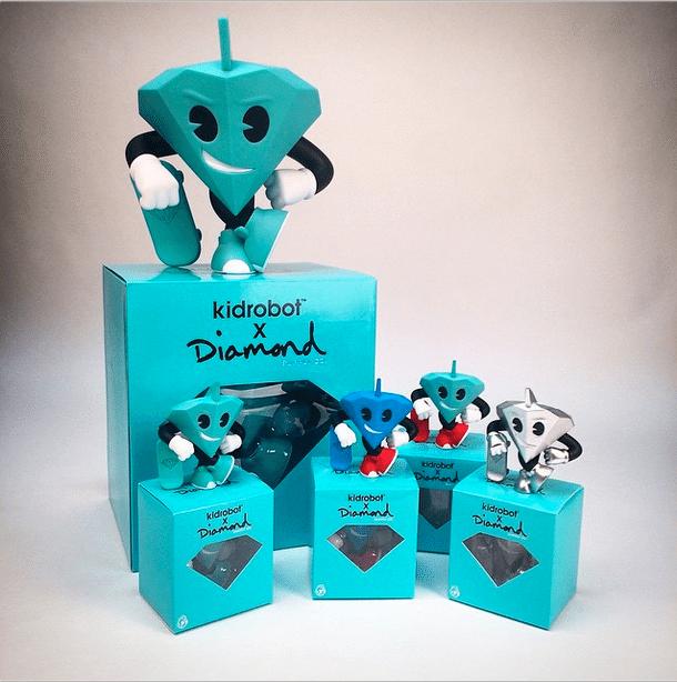 Lil Cutty Diamond Supply Co x KIDROBOT