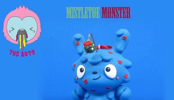 Mistletoe Monster The Bots Jenn bot Tony Bot