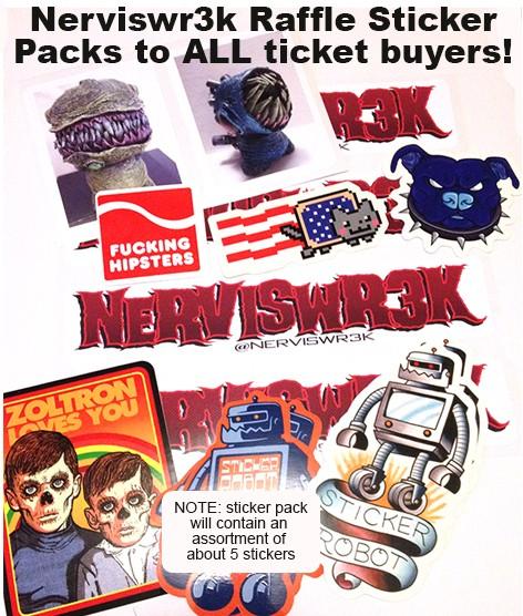Nervis-sticker-pack