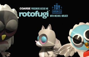 COARSE at Rotofugi Designer Toy Store & Gallery with Michael Walker