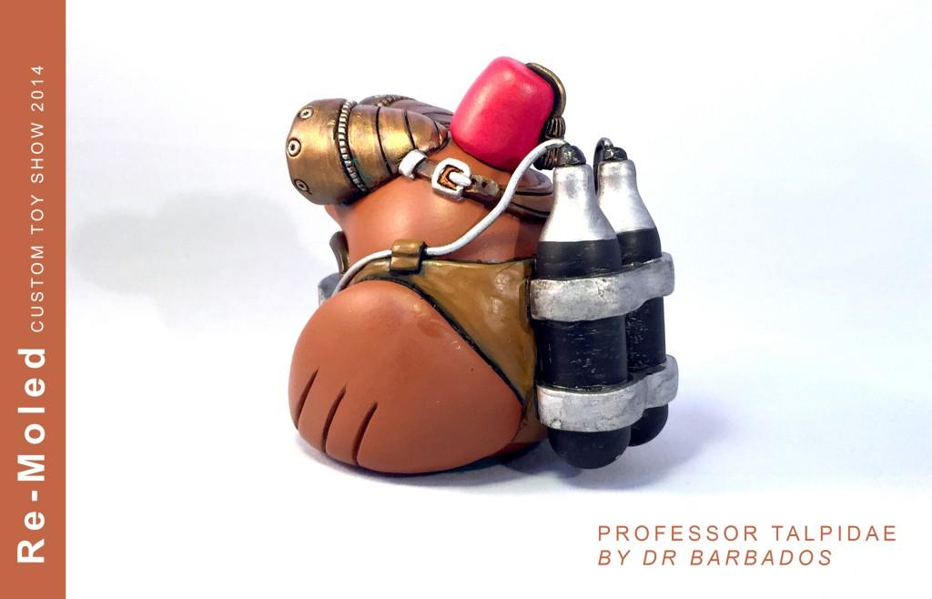 Professor Talpidae By Dr Barbados side view