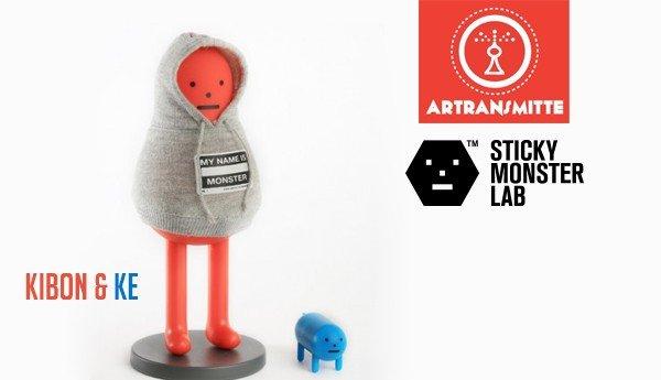 Red KIBON & Blue KE By Sticky Monster Lab x Artransmitte