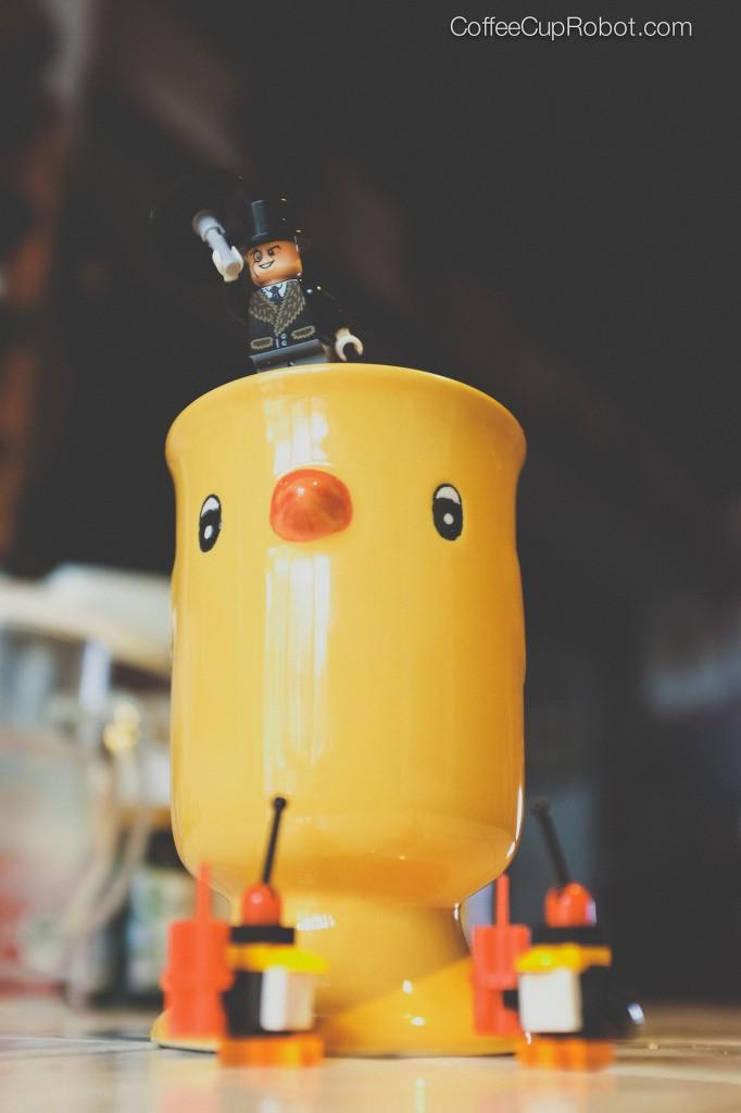 coffee cup robot batman peng