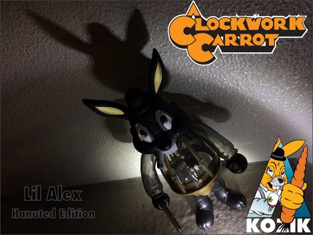 Blackbook Toys A Clockwork Carrot Frank Kozik Lil Alex Haunted Edition