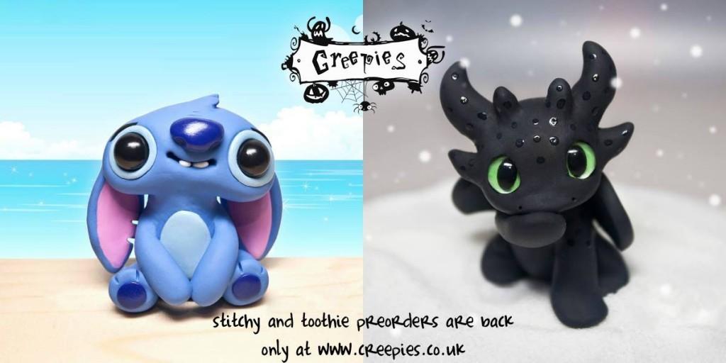 Creepy Stitchy & Toothie