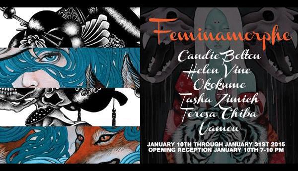 Feminamorphe Art Show Flyer Tasha Zimich