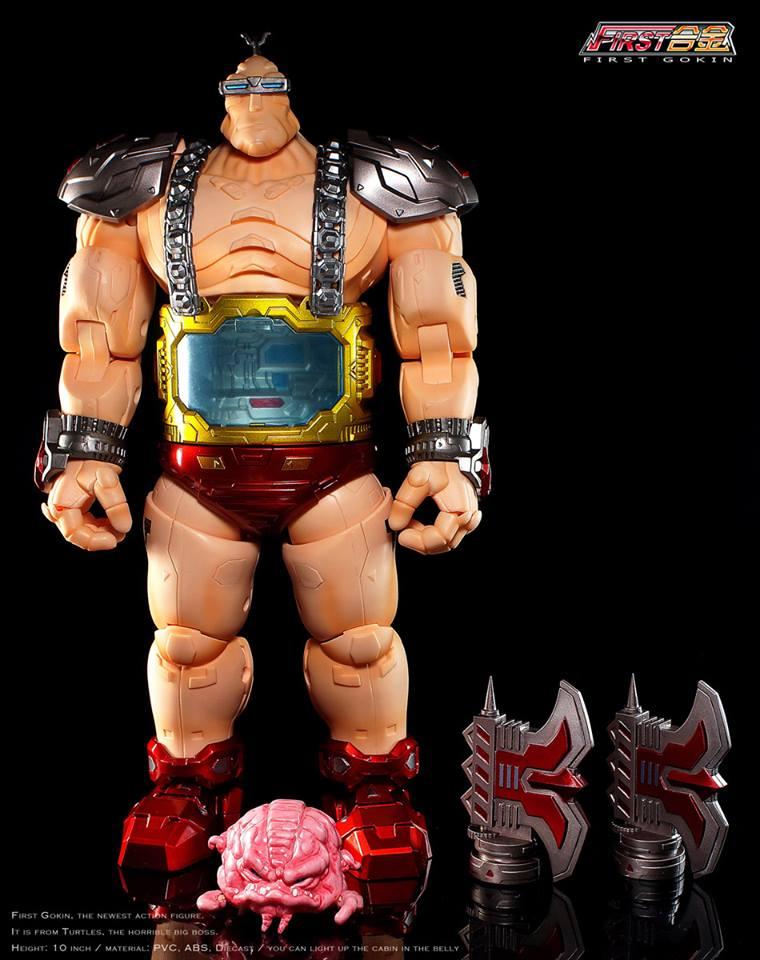 First Gokin - Turtle Enemy Boss TMNT full