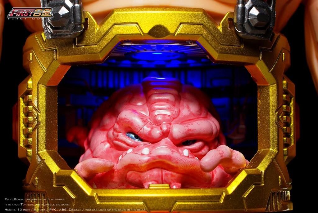 First Gokin - Turtle Enemy Boss TMNT4