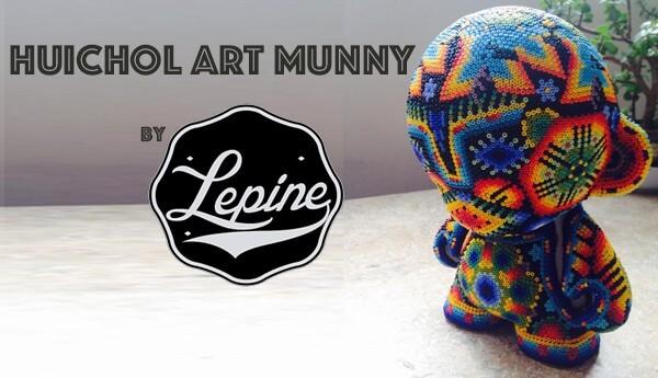 Huichol-Art-Munny-By-Beto-Lepine-TTC-banner-