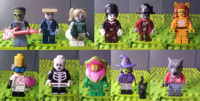 Lego series 14 Minifigures