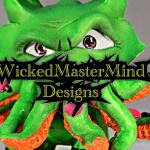OctoMartians WickedMasterMind Design Custom Dunny