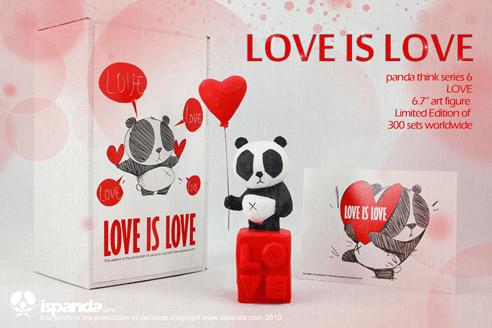 PANDA THINK SERIES 6 LOVE IS LOVE Cacooca promo