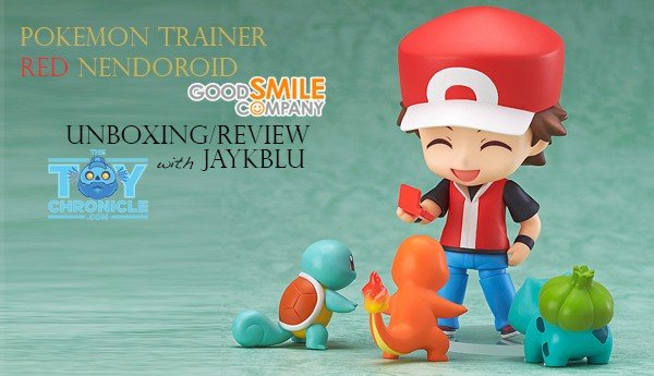 Pokemon Trainer Red Nendoroid By Good Smile Company Unboxing/Review